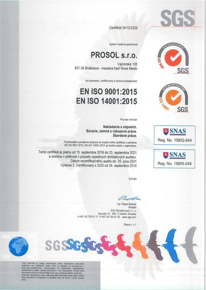 Prosol - recyklácia odpadu ba871a5b272